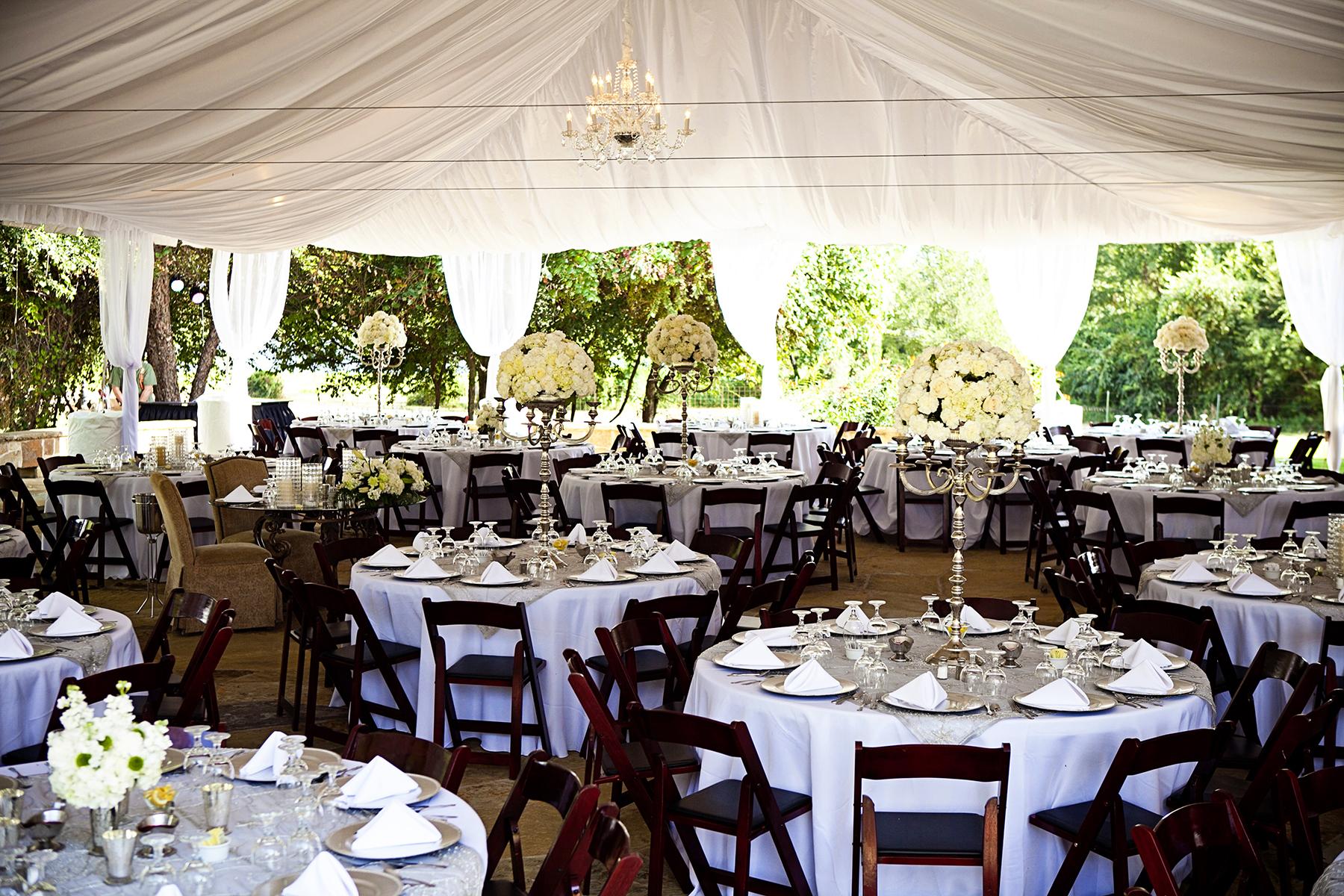 elegant wedding at rock lake ranch