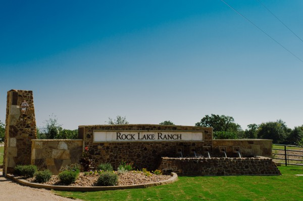 The Front Gate Amp Entrances Rock Lake Ranch Anderson Texas